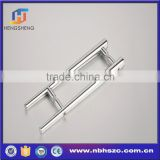 Round Bar Ladder H-Shape Style Pull Push Door Handles Interior or Exterior