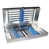Sterilization Cassette with Detachable Lids Silicone 7 instruments/Dental Tools Best sale/Dental Instruments Dental Consumables