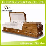 chinese wood coffin box