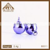 8mm 10mm 14mm colorful brass small metal bells for sale