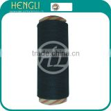 Ne19 recycled open end black cotton yarn for sock yarn manufacturer