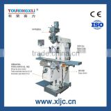 XL6336W Stable drilling milling bridgeport machine with rotary table