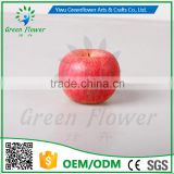 Greenflower 2016 Wholesale 8cm EPS Artificial fruit red apple handmade China for fruit store supermaket decoration