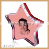 Acrylic diy photo frame,high quality acrylic frameless picture frame