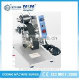 hot selling ink roll wheel coding machine for label with reasonable price HP-130
