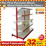 Kindle Professional Customized hardware display metal display rack/metal retail display shelf/grocery store shelf display