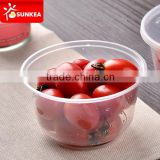 Disposable plastic take away bowls for fruit                                                                         Quality Choice