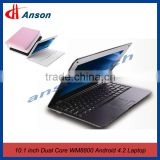 10 Inch WM8880 Dual-Core DDR3 Ram Laptop