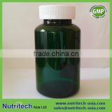 300cc PET green Plastic bottle with child proof caps for pharmaceutical & dietary supplement