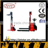 5.5 M Height Factory Outlet electric hydraulic stacker forklift