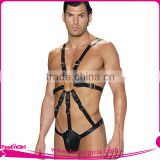 Christmas Nighty Men Sexy Male Leather Lingerie Hot