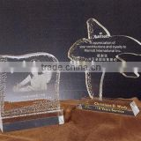 China New Style Customized Acrylic Star Acrylic Marble Trophy Base with Various Size