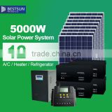 Hot sale!!!Renewable energy On/Off grid soar power system,5000w portable solar energy system,solar panel