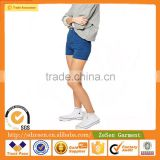 China Manufacturer Apparel Sexy Cotton Denim Fabric High Waist Hot Pant Shorts For Women