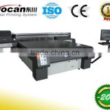 Docan large format digital direct uv flatbed curable printer/wood glass metal plate printer