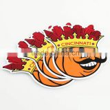Custom foam stickers Printed,All type of adhesive Scratch Off Feature cartoon sticker flexo label printing ----DH20707