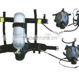 Self contained Positive pressure air breathing apparatus with addtional two full face mask