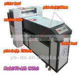 Acrylic printer ,UV Acrylic printer with UV LED lamp and automatic cleaning and drying system