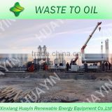 Light color fuel oil from tyre retreading machine