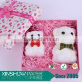 tissue shredded confetti paper filling candy perfume box