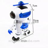 custom Intelligent toys for kid educational robot with music and light/oem electron toy with music