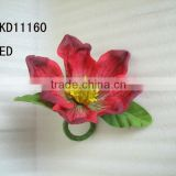 elegant artificial simulation poppy flowers nakin ring for home table decorations