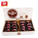 Yake kinder chocolate in box with truffle shape