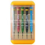 5 In 1 Screwdrivers Set Repair Tools Kit For iPhone / For iPad / For Samsung Phone PC Laptop - BEST-668S