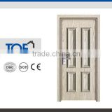 Economic Price High Grade Panel Design Construction Home Warehouse White Color Interior MDF PVC Door