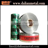 Aluminum Foil Underground Detectable Warning Tape in Various Color