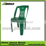 best selling without arm plastic chair mould