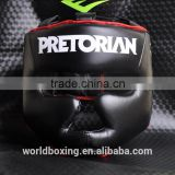 Wholesale Grant Custom PU Leather Boxing Helmet/Head Guard/Boxing Headgear For Training