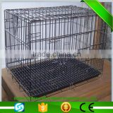 Low price and high quality about the welded wire mesh dog cage with wheels/ stainless steel dog cage/dog cage