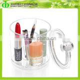 DDX-X0018 ISO9001 Chinese Factory Made SGS Test Crystal Clear Plasic Cosmetic Storage Box for Gift