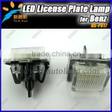 Auto Lamp Led License Plate Lamp For Benz W204 W204 5D Wagon W212 C216 C207 W221 Led License Plate Lamp For Benz