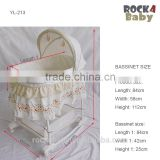Hotsale Baby sleep Cradle bassinet cotton baby basket