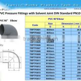 PVC Pipe Fitting PVC 90 Degree Elbow