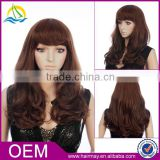 High quality density dreadlock mono rose wig synthetic js and company hair dye wig