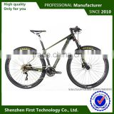 "cuadros bicicleta doble suspension 29er carbon frame mountain bike with 19""frame size"
