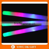 "16"" Multicolor LED Flashing Light Effect Sticks Color Changing Foam Baton Strobe for Party Supplies, Festivals, Raves, Birthdays"