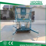 Building Aerial Working Table Electric Hydraulic Mast Climbing Aluminum Lifting Platform Price