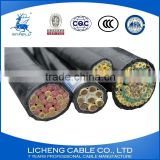 multi core control cable kvv16*1.0mm2 copper conductor pvc insulated pvc sheathed contral cable/cable