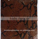 fashion handbags leather with snake printing