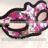 sequin eye mask for party decoration/ hair accessories