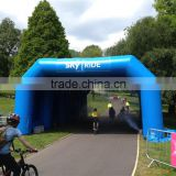 PVC inflatable sport tunnel,Race runing Inflatable arch tent/PVC entrance arch tunnel