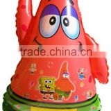 wholesale Patrick Shaped Helium Mylar Balloon /Children's Birthday Party Products/Spongebob Party Supplies