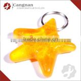 promotion plastic keychain photo holder