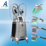 Local Fat Removal Fat Freezing 220 / 110V Equipment Cryolipolysis Machine 4 Cryo Handles
