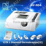 beauty salon equipment N94 4IN1 dermabrasion machine with ultrasound and cold&hot treatment