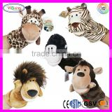 D374 Cartoon Hand Puppet Stuffed Plush Animal Puppets